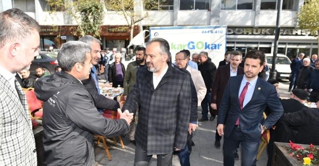 "Alinur Aktaş: ""Bursa Çarşıya turist yağacak!.."""