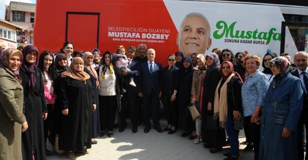 Bozbey: Harmancık'ta hayvancılığı destekleyeceğiz