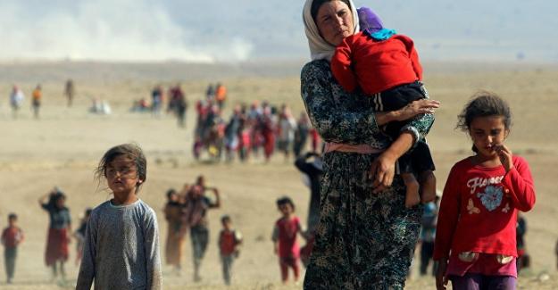Bugün 8 Mart ve IŞİD'in kaçırdığı 50 Ezidi kadını başlarını keserek öldürdüğü ortaya çıktı