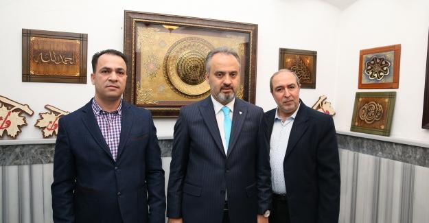 Bursa'da kumaştan Kur'an-ı Kerim sergisi