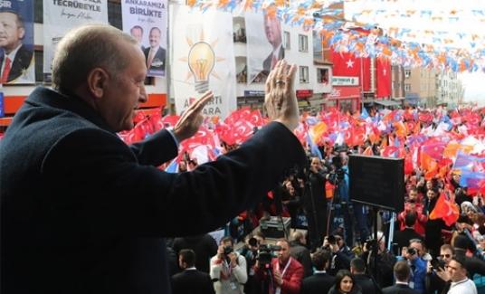 Cumhurbaşkanı Erdoğan Haymana'da Özhaseki için destek istedi
