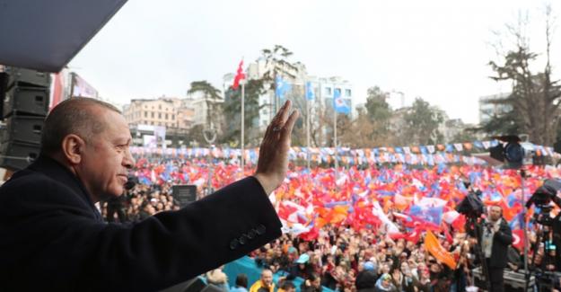 """Erdoğan'dan HDP'lilere: """"Sizin bu ülkede yeriniz yok, yallah !…"""""""