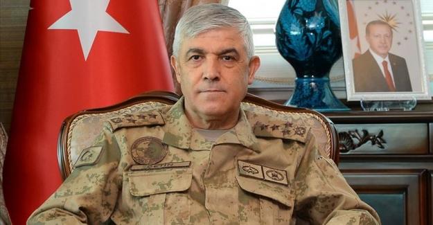 """Jandarma Genel Komutanı Orgeneral Çetin: """"Terör örgütüne katılımlar durmuş ve örgüt çözülmeye başlamıştır"""""""