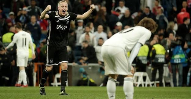 Real Madrid, sahasında Ajax'a 4-1 yenilerek Şampiyonlar Ligi'nden elendi