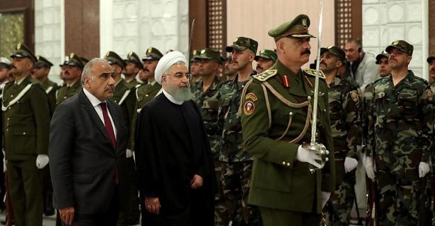 """Ruhani: """"Şii İran, Şiilerin liderliğindeki Arap komşusu Irak'la ilişkilerini güçlendirmekte kararlı"""""""