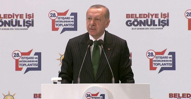 """Cumhurbaşkanı Erdoğan: """"Parti içinde yanlış yapanlar var, bunun hesabını soracağız"""""""