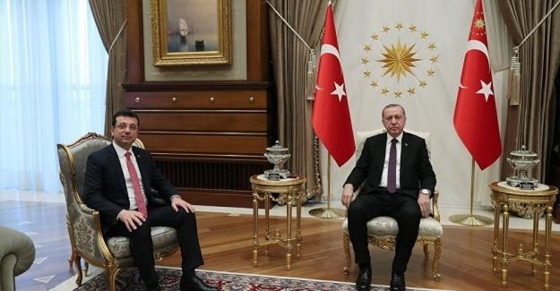 İBB Başkanı İmamoğlu, Cumhurbaşkanı Erdoğan'ı havalimanında karşıladı