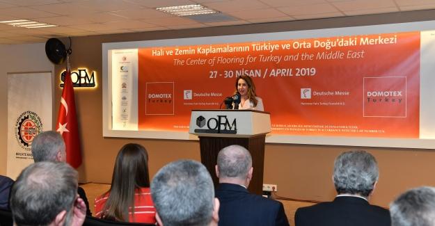 """Türkiye'nin Halıları 6. kez Uluslararası """"DOMOTEX Turkey"""" ile Gaziantep'ten dünyayı sarmaya hazırlanıyor"""