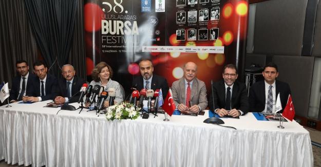 58. 'Uluslararası Bursa Festivali' Başlıyor