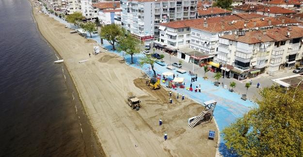 Bursa Plajları yaza hazırlanıyor