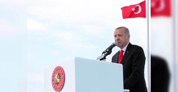 """Erdoğan Samsun'da: """"İçeride ve dışarıda ülkemize kurulan tuzakları bozuyor, daha güçlü bir gelecek için azmimizi yeniliyoruz"""""""