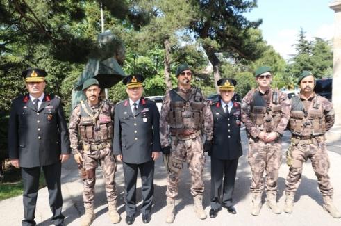 Jandarma Genel Komutanı Orgeneral Arif Çetin, Bursa'da..