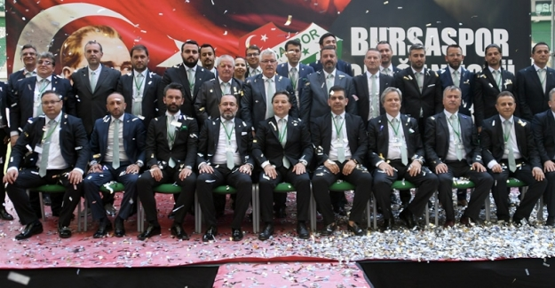 "Bursaspor'un Yeni Başkanı: ""Mesut Mestan"""