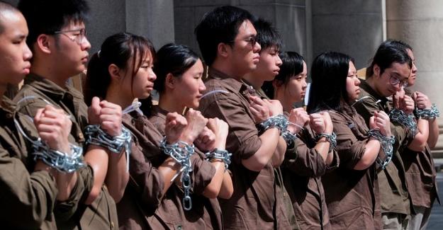 Çin medyasından 'Hong Kong protestolarının arkasında dış güçler' var iddiası