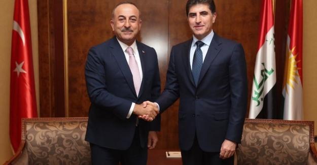 Dışişleri Bakanı Çavuşoğlu Barzani'nin yemin törenine katıldı