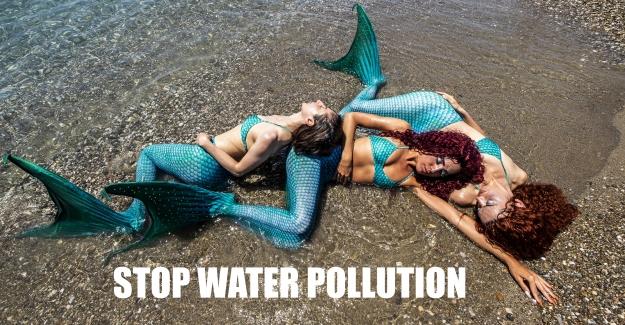 """Dünya Kareografi Şampiyonasından tüm dünyaya; """"Su Kirliliğine Son!.."""""""