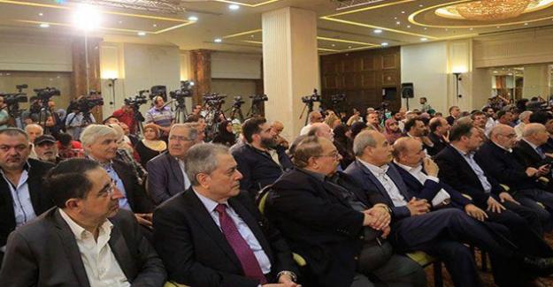 """Yüzyılın Anlaşması Karşıtı Gazeteciler Konferansı: """"Filistin Toprağı Satılık Değildir"""""""