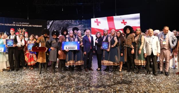'Altın Karagöz' Halk Dansları Birincisi Gürcistan oldu