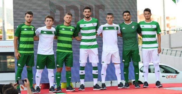 İşte Bursaspor'un yeni sezon formaları