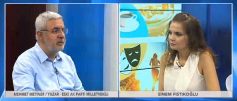 """MEHMET METİNER: """"Abdullah Gül'ü dış güçler destekliyor"""""""