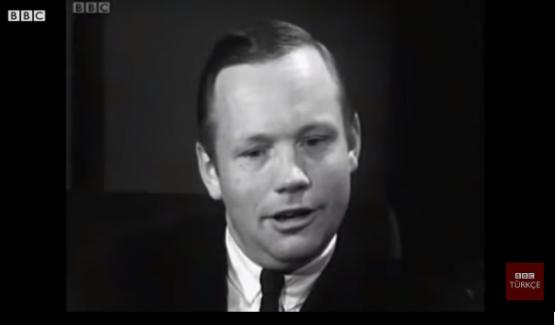 """Neil Armstrong: """"Ay'dan bakınca Dünya çok güzel görünüyor"""""""