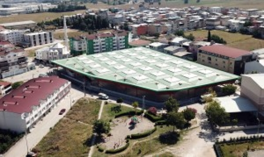 Panayır Mahallesine modern kapalı pazaryeri