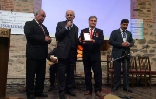 BURSA ARENA  7. Ödülünü Aldı !..