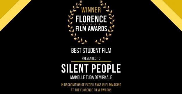 """Geleceği Sinemacısı'na Floransa'dan """"En İyi Öğrenci Filmi Ödülü"""""""