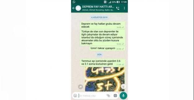 İzmir Depremini 1 gün Denizli depremini 2 saat önceden bildi