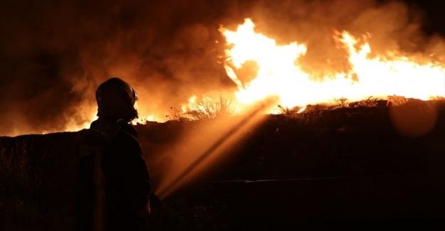 Marmara Adası'ndaki yangın kontrol altına alındı