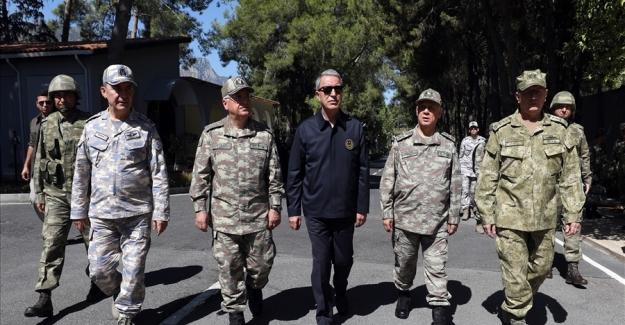 """Milli Savunma Bakanı Akar: """"Kıbrıs bizim milli davamız. Herkes bunu bilsin, kimse hata yapmasın.."""""""