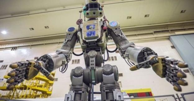 Rusya'nın uzaya gönderdiği 'insansı robot' FEDOR..