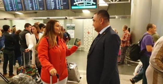 Rusya'ya vizesiz ilk Türk yolcu giriş yaptı