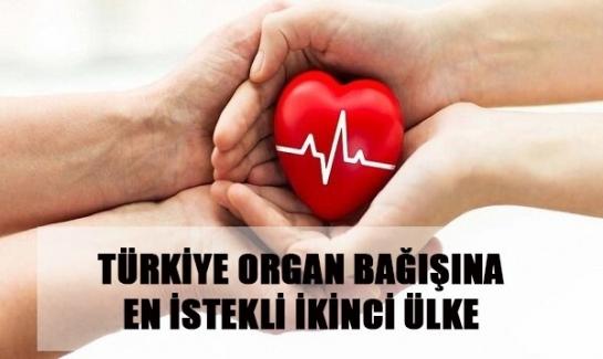 Son 4 yılda 202 bin 215 kişi organ bağışladı