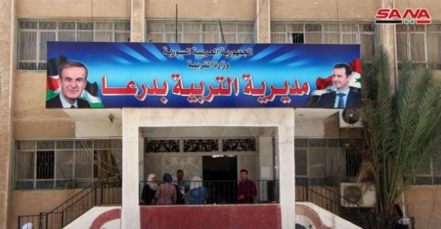 Suriye'de yeniden imar okullardan başladı
