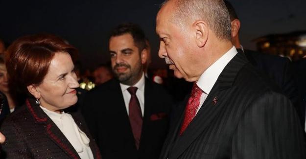 """Akşener'den 'AKP ile yakınlaşma' açıklaması  """"Sayın Erdoğan, Cumhurbaşkanlığı sisteminden vazgeçerse.."""""""