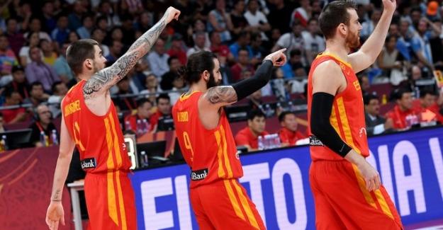 """Basketbolda dünya Şampiyonu: """"İspanya"""""""