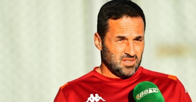 Bursaspor Teknik Direktörü Yalçın Koşukavak Soruları Yanıtladı