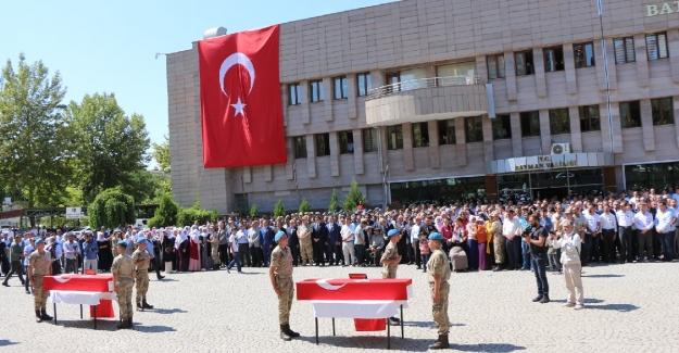 Diyarbakır Şehitleri gözyaşlarıyla uğurlandılar