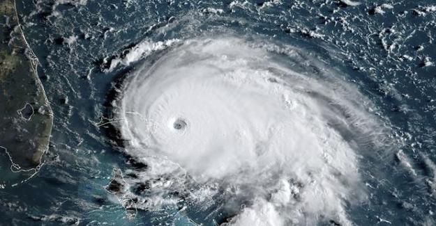 """ABD'nin başı belada; """"Dorian Kasırgası en yükseğe ulaşan şiddetiyle Bahama açıklarında"""""""