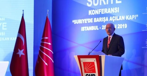 Kılıçdaroğlu: Türkiye ve Suriye Halkları bir orman gibi kardeşçe yaşamalı