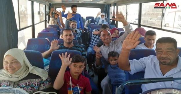 Ürdün Kamplarındaki Suriyelilerin 'Vatanlarına Dönüşler'i sürüyor