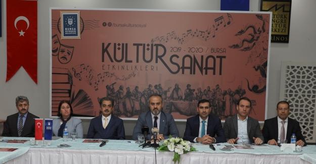 Bursa'nın nabzı kültür sanat ile atacak
