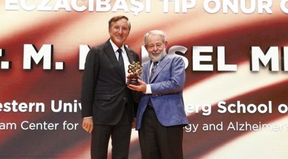 Eczacıbaşı Tıp Onur Ödülü Prof. Dr. Marsel Meşulam'a verildi