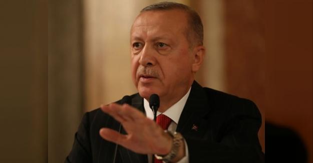 """Erdoğan: """"Kararlı duruşumuzu devam ettireceğiz"""""""