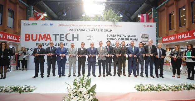 BUMATECH Bursa Makine Teknolojileri Fuarı törenle açıldı