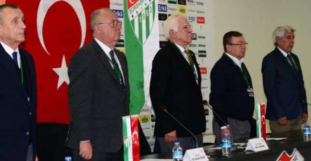 """Bursaspor Olağan Divan Kurulu Toplantısı'ndan açıklama; """"Kulübün 447 Milyon TL borcu var"""""""