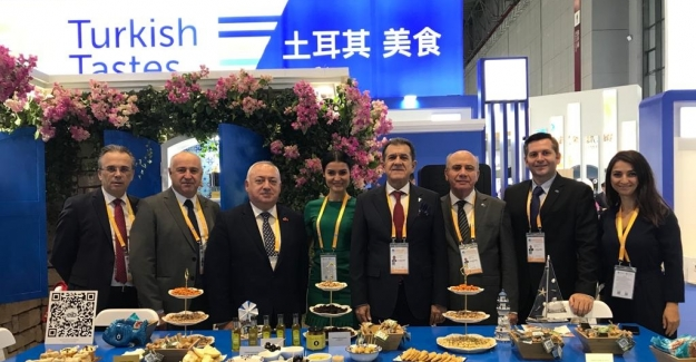 Çin ithalat fuarında Türk lezzetleri izdihamı