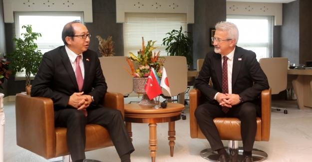 Japon Başkonsolos ile Türk - Japon ilişkileri