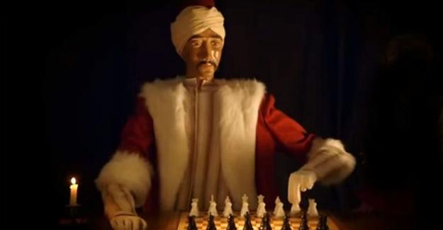 Napolyon ve Benjamin Franklin'i alt etmeyi başaran mekanik satranç ustası 'Türk'ün hikâyesi